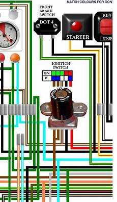 honda cb125tde superdream colour wiring diagram honda cb400 4 cb400f four uk spec colour wiring loom diagram