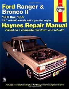 free online auto service manuals 1986 ford bronco seat position control haynes automotive repair manual ford ranger bronco ii 1983 thru 1992 haynes repair manuals