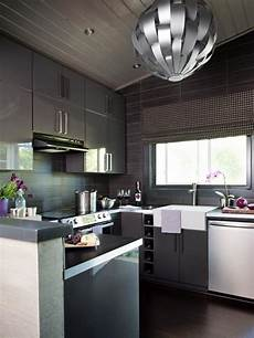 Pictures Of Modern Kitchen Designs small modern kitchen design ideas hgtv pictures tips hgtv