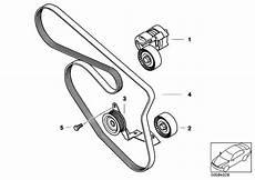 original parts for e46 316ti n42 compact engine belt