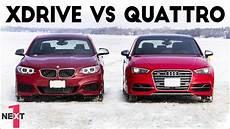 Quattro Vs Xdrive - epic audi quattro vs bmw xdrive on snow 2017