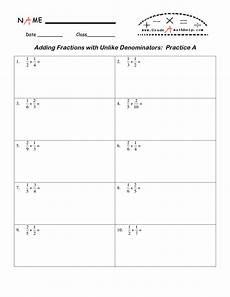 12 best images of worksheets adding fractions with unlike denominators adding fractions with