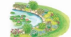 Pflanzen Am Teich Teichrand Gestalten Mit Pflanzplan Mein Sch 246 Ner Garten