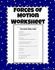 science worksheets on and motion 12334 inertia velocity and speed science worksheet