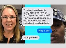 wrong text thanksgiving