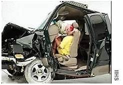 Ford F 150 Pickup Gets Poor Crash Test Rating  Jun 4 2001