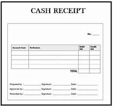customizable cash receipt template in word excel and pdf formats vatansun
