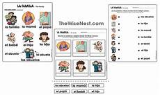 worksheets la familia 18350 la familia the wise nest