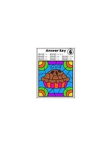 colors review worksheets 12802 multiplication review color by number worksheets tricky facts 6 7 8 9 and 12
