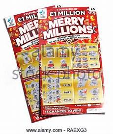 the national lottery christmas scratch cards 76971778 alamy