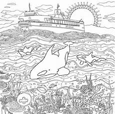 coloring pages landscapes coloring home