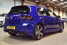 2016 Volkswagen Golf R In Lapiz Blue Volkswagen Vw Golf