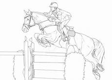 show jumping coloring pages page sketch coloring page