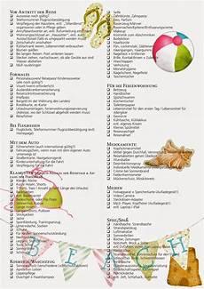 checkliste urlaub alles im downloads die urlaubscheckliste ordnungsliebe