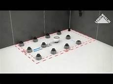 poser un bac a sur pied installer les receveur kioto et osaka sur pieds