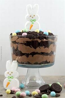 easter bunny dirt cake trifle recipe the domestic