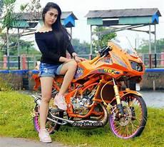Modifikasi Cantik Rr by 97 Gambar Wanita Naik Motor Terkeren