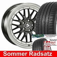 19 Quot Ultra Lm Tiefbett Felgen E4 Bk 225 35 Reifen F 252 R Audi