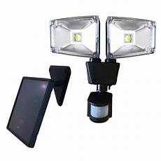 nature power 160 degree black motion sensing outdoor solar dual l security light with advance