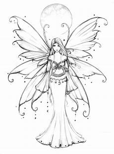 coloring pages of fairies for adults 16630 the fantastical realm fairies faeries fays silhouettes vectors clipart svg