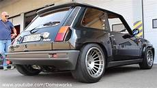Renault R5 Maxi Turbo 400hp Spitting Flames And