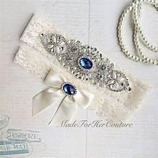Blue Garter Belt For Wedding
