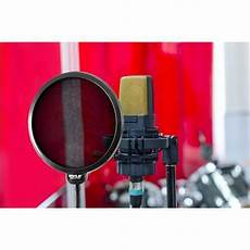 New Pyle Pepf40 Studio Microphone Wind Screen Mic Pop