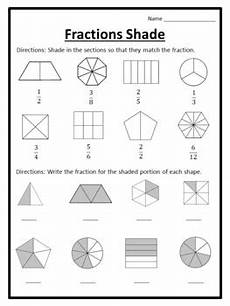 fraction shaded in worksheets 3980 shading fractions worksheets shading fractions shaded fractions worksheets shade