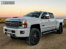 2016 Silverado 35 Rough Country Lift 33 Tires On 22