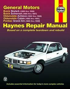 auto air conditioning service 1998 oldsmobile achieva windshield wipe control buick skylark and somerset olds achieva and calais pontiac grand am haynes repair manual