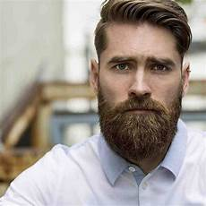 choosing the hairstyle and beard combination
