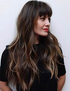 50 cute and effortless long layered haircuts with bangs long layered haircuts layered