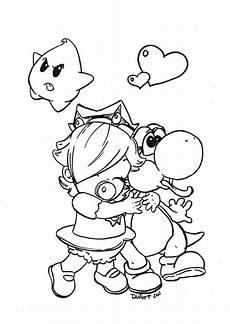 Ausmalbilder Prinzessin Rosalina Rosalina Coloring Page Coloring Home