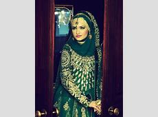 Pakistani Stylish Muslim Wedding Dress   HijabiWorld