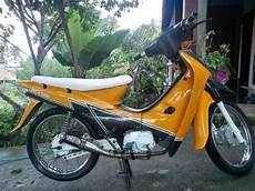 Modifikasi Motor Honda Supra Fit New by 15 Modifikasi Motor Honda Supra Fit Lama Terbaik Otomotiva