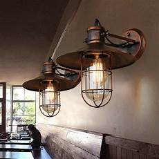 retro copper wall light vintage rustic led wall sconce fixture outdoor 607841452496 ebay