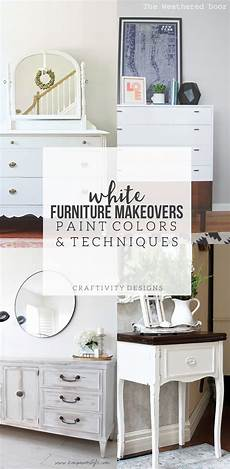 8 white furniture makeovers paint colors craftivity designs