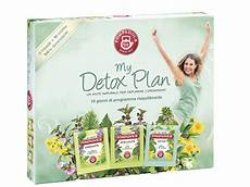 my detox plan box pompadour acquista on line tisane