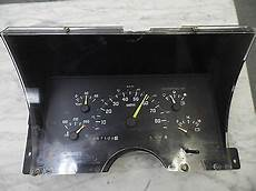 auto air conditioning repair 1994 chevrolet s10 instrument cluster instrument cluster repair 1994 gmc 1500 gmc sierra 1500 review and rating motor trend