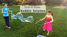 how to make bubble solution for bubbles inner child fun