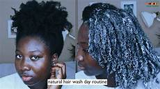 my 4c natural hair wash day routine cantu shea butter youtube