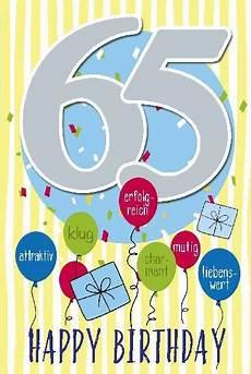 depesche geburtstagskarte 65 geburtstag mit musik