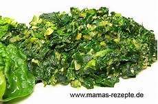 rezept frischer spinat spinatgem 252 se mamas rezepte mit bild und kalorienangaben