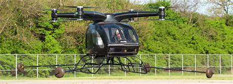 Sureflys Hybrid Electric Drone Helicopter Completes Its