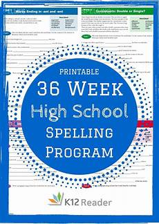 spelling worksheets for high school students 22411 high school spelling words program homeschool high school spelling words word program