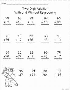 addition regrouping worksheets for grade 1 9023 polka dot firsties manic monday freebie math