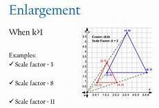 unit 7 1 7 2 scale diagrams enlargements and dilations st brendan catholic school