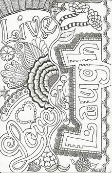 live love laugh doodle by plhill lets color something