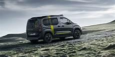 Peugeot Rifter 4x4 Concept Revealed Photos