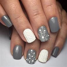 30 snowflake square winter nails ideas try in 2019